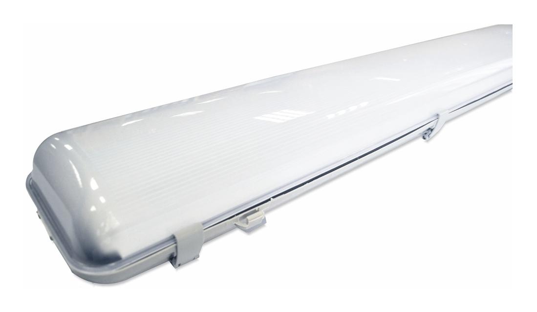 Светодиодный накладной светильник Айсберг  5770Lm 47W IP65 1270х167х110мм (матовый) - 1