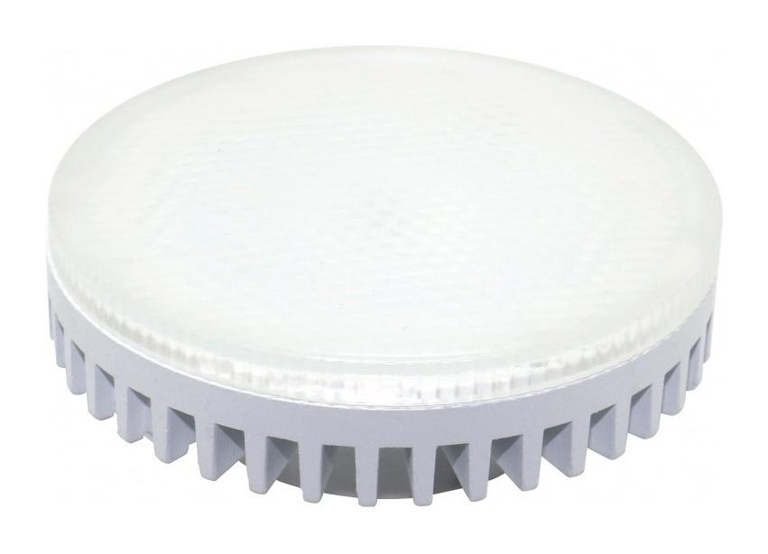 Лампа светодиодная матовая GX53 10Вт 160-260В 3000/4000К 800Лм - 1