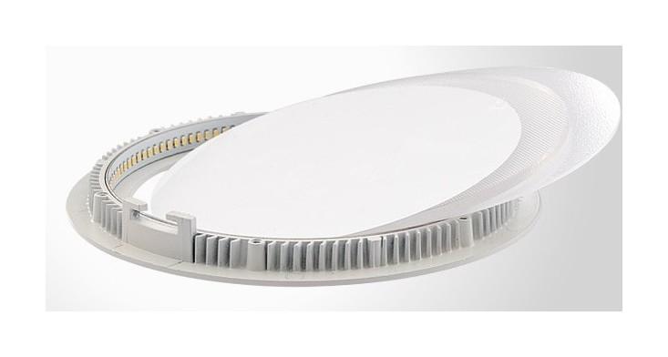Светодиодная панель круглая белая 13 Вт 170/150mm - 1