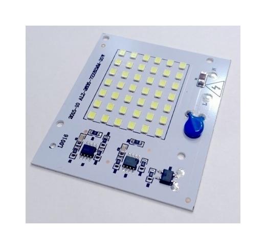 Светодиодная матрица 220 Вольт 20 ВТ (С ВСТРОЕННЫМ БЛОКОМ ПИТАНИЯ) - 2